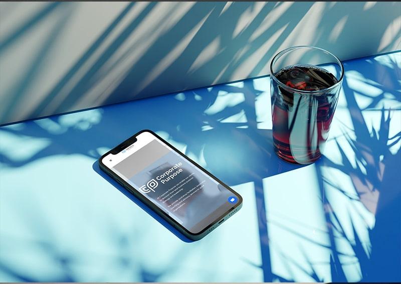 Corporate Purpose Smartphone